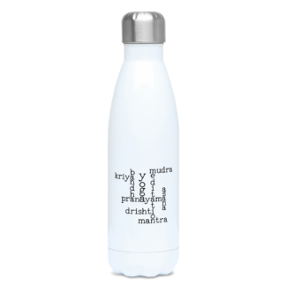 Kundalini Yoga Elements Crossword Water Bottle 500ml Stainless F
