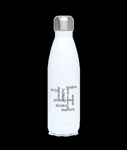 Kundalini Yoga Elements Crossword Water Bottle 500ml Stainless F