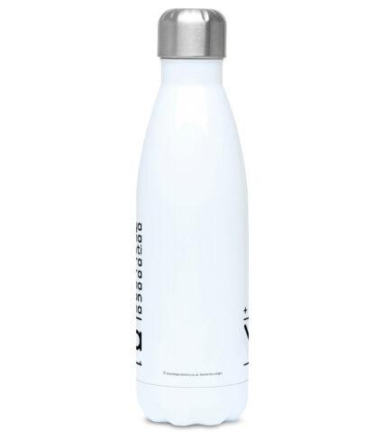 Kundalini Yoga Elements Math Puzzle Water Bottle 500ml Stainless Steel