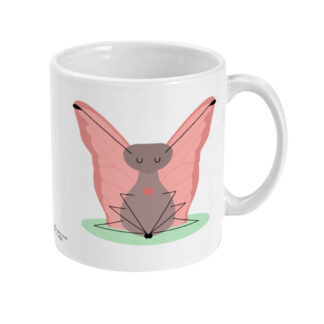 Butterfly Pose Yoga Mug