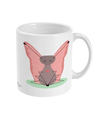 Butterfly Pose Yoga Mug