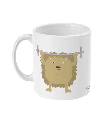 Gym Hedgehog Mug