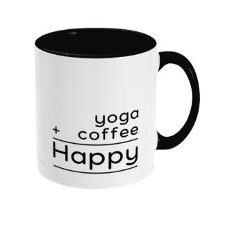 Yoga Coffee Mug Happy Mug Yoga Coffee Mug
