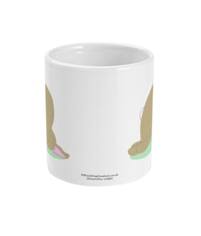 Yoga Rabbit Bunny Mug Rabbit Pose
