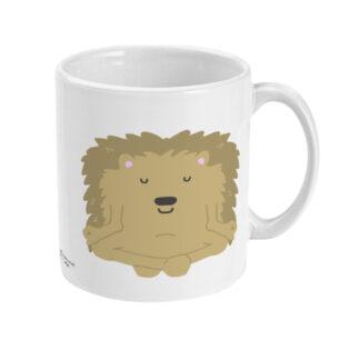 Yoga Hedgehog Mug Yoga Coffee Mug