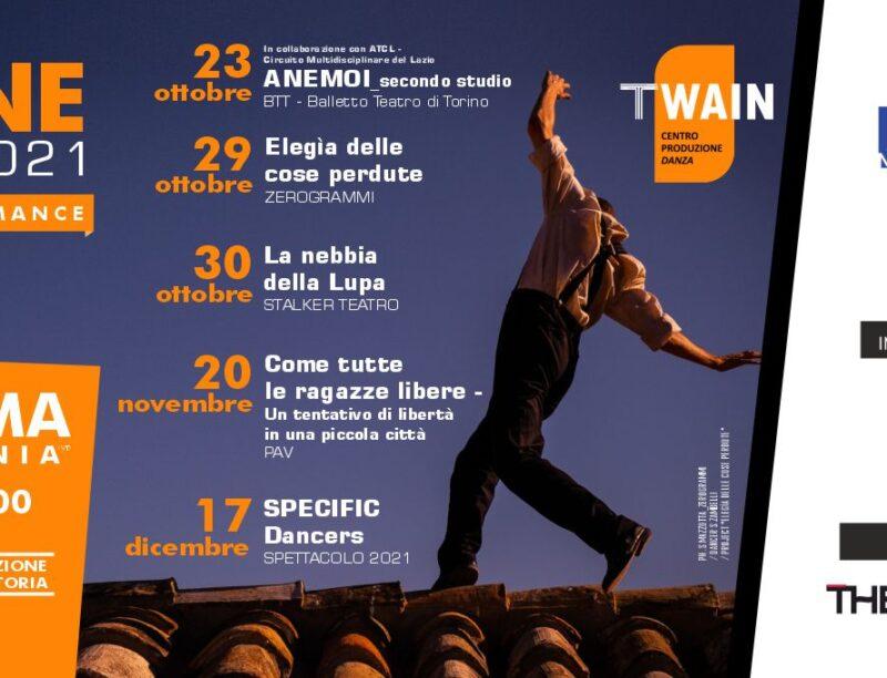 Stagione Autunno 2021 TWAIN_Centro Produzione Danza