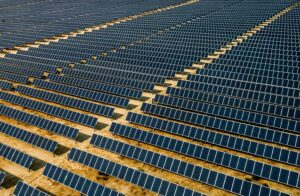 SOLAR FARM, CALIFORNIA BY DRONE