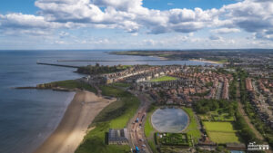 Tynemouth by drone