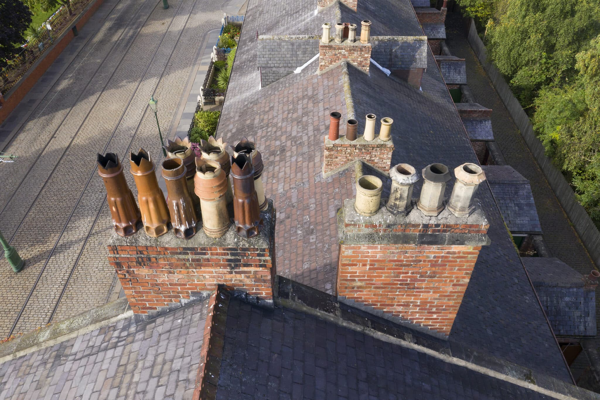 CHIMNEY INSPECTION by drone pilot in Durham. Historic North East