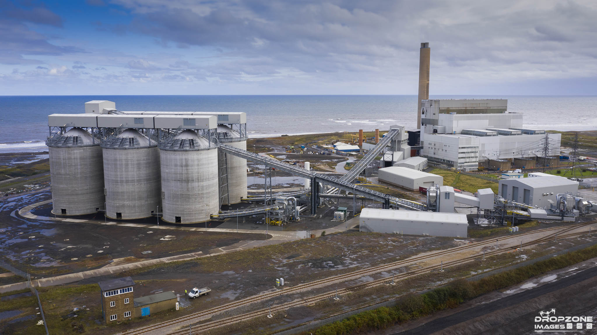 Alnmouth power station, Registered drone operator Northumberland