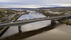 Sentry Safety boats.  A1 bridge improvements