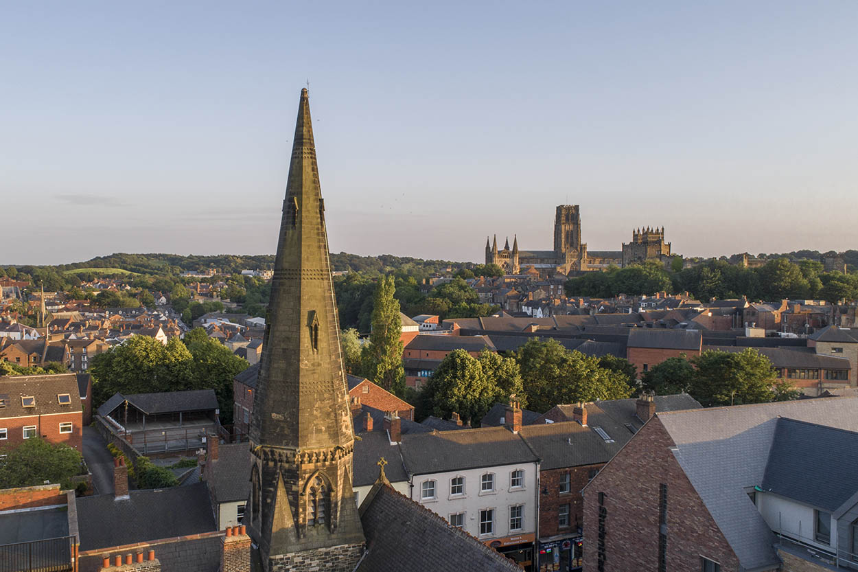 Durham drone photography and videography