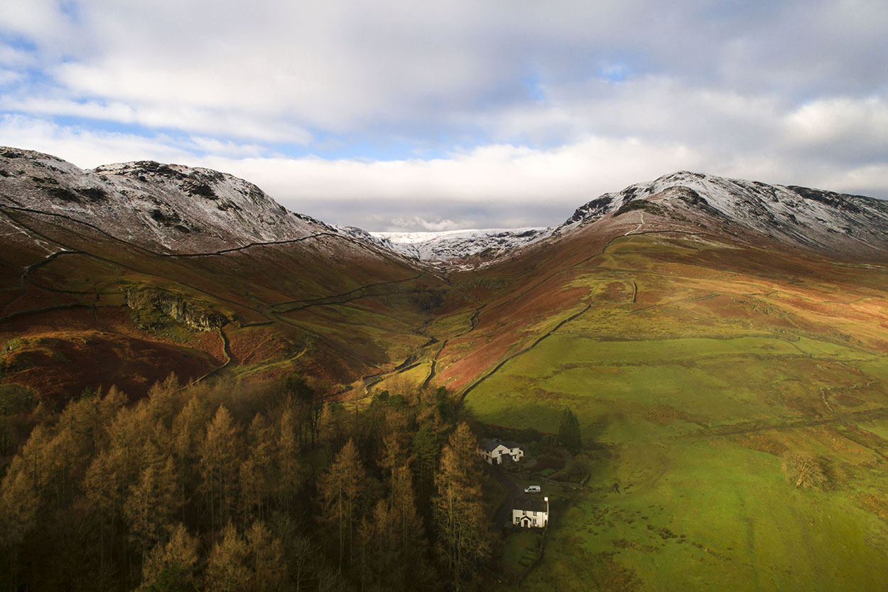Stunning lakes district by drone, collaboration with Skylark Aerial Photography