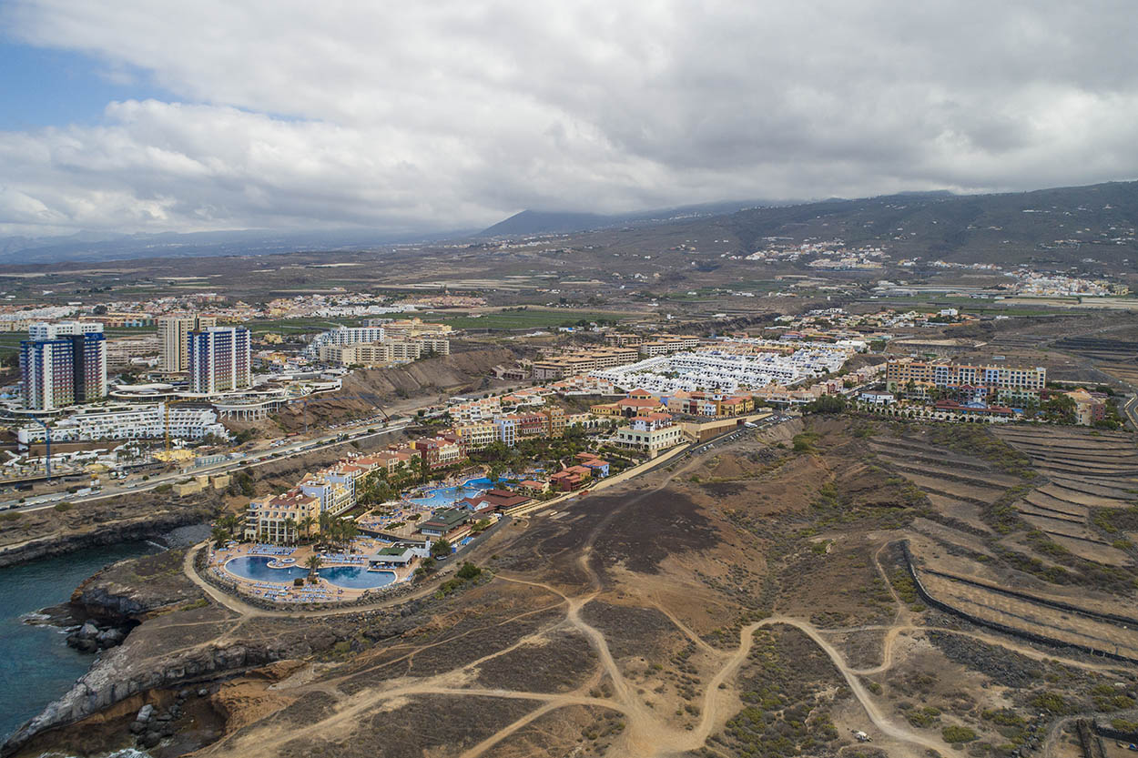 Tenerife by drone. CAA drone services in Europe
