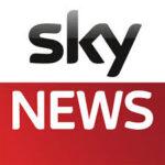 Sky news drone filming newcastle