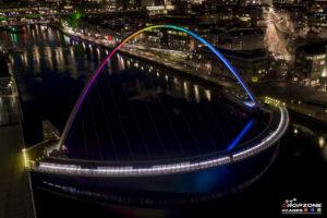 Millennium Bridge Rainbow