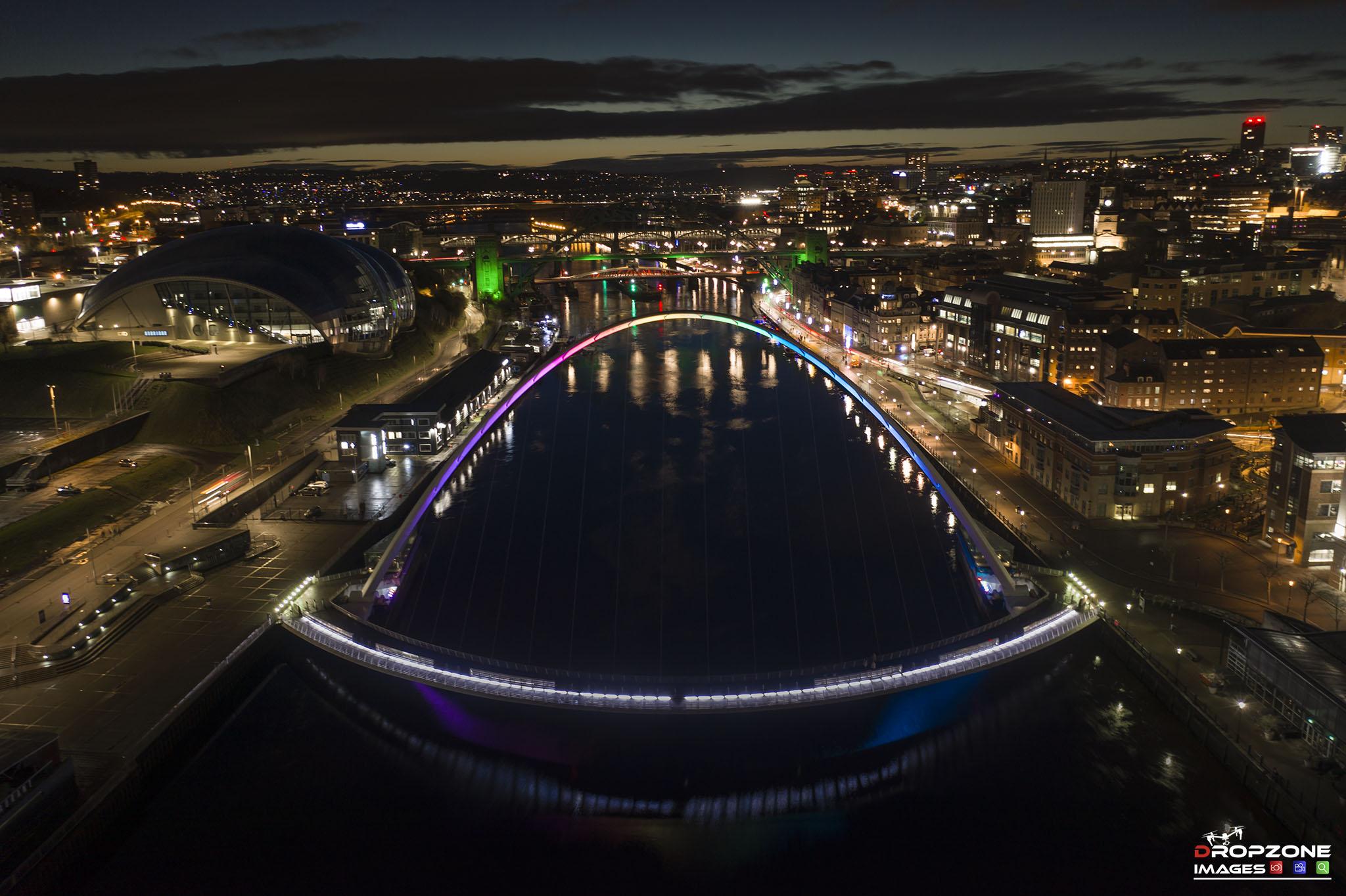Above the Tyne