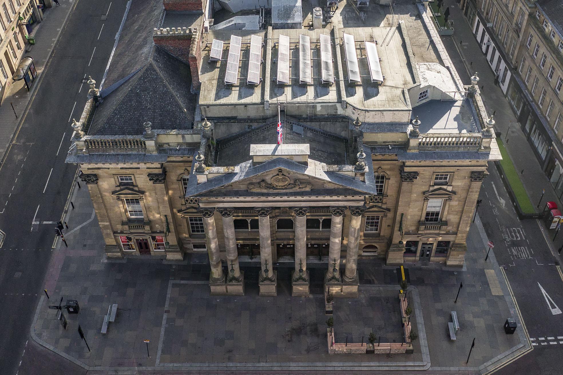 Theatre Royal drone Newcastle
