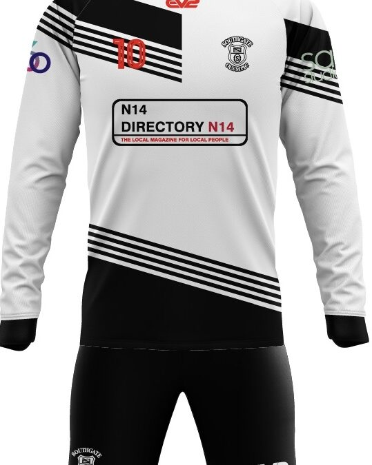 Southgate Olympic AFC announces new kit sponsor