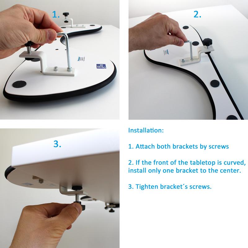 klávesnice opěrka zápěstí ergonomická podložka pod myš opěrka počítače