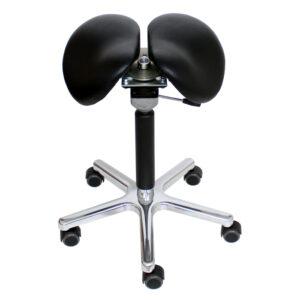 silla de montar silla de trabajo taburete de dos partes