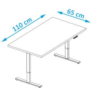επιτραπέζιο μικρό γραφείο λευκό γραφείο