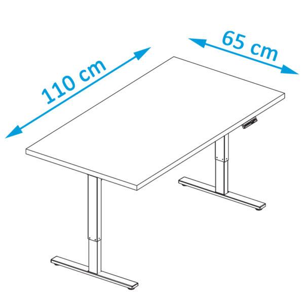 bàn văn phòng nhỏ bàn làm việc màu trắng