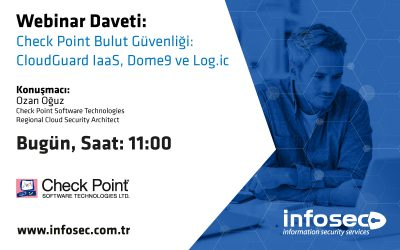 Check Point Bulut Güvenliği – CloudGuard IaSS, Dome9 ve Log.ic