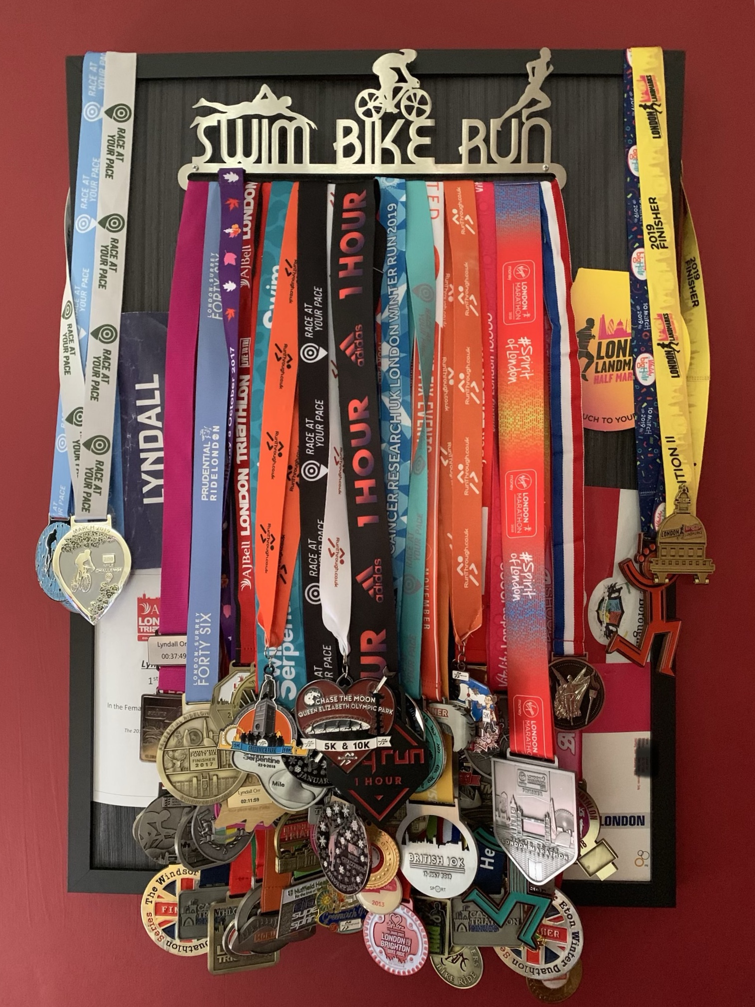 It starts with ONE medal