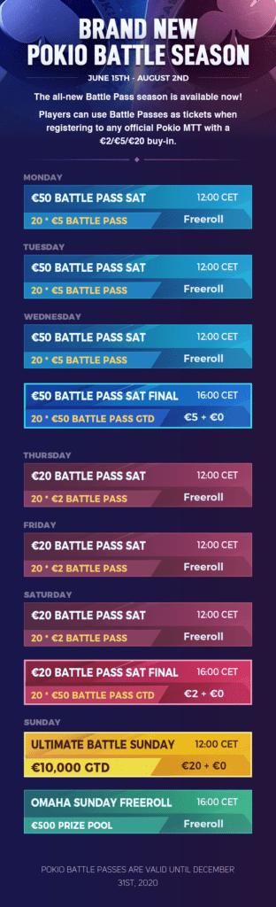 battle season schedule