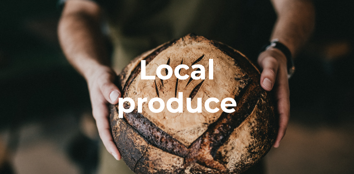 two hands food group - local produce