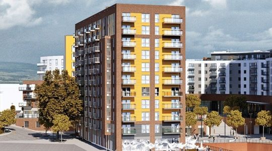 2 bedroom flat in Centenary Quay Southampton