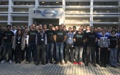 Datatronics asistiendo a la OSM Hackfest & NFV Plugtests en Sophia Antipolis