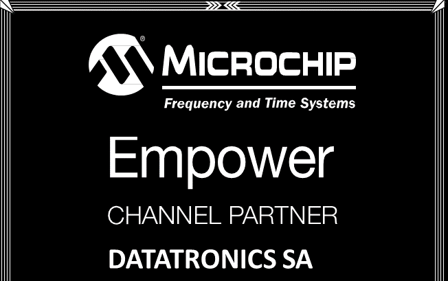 Sincronismo de Tiempo y Frecuencia: Gold Partner de Microchip