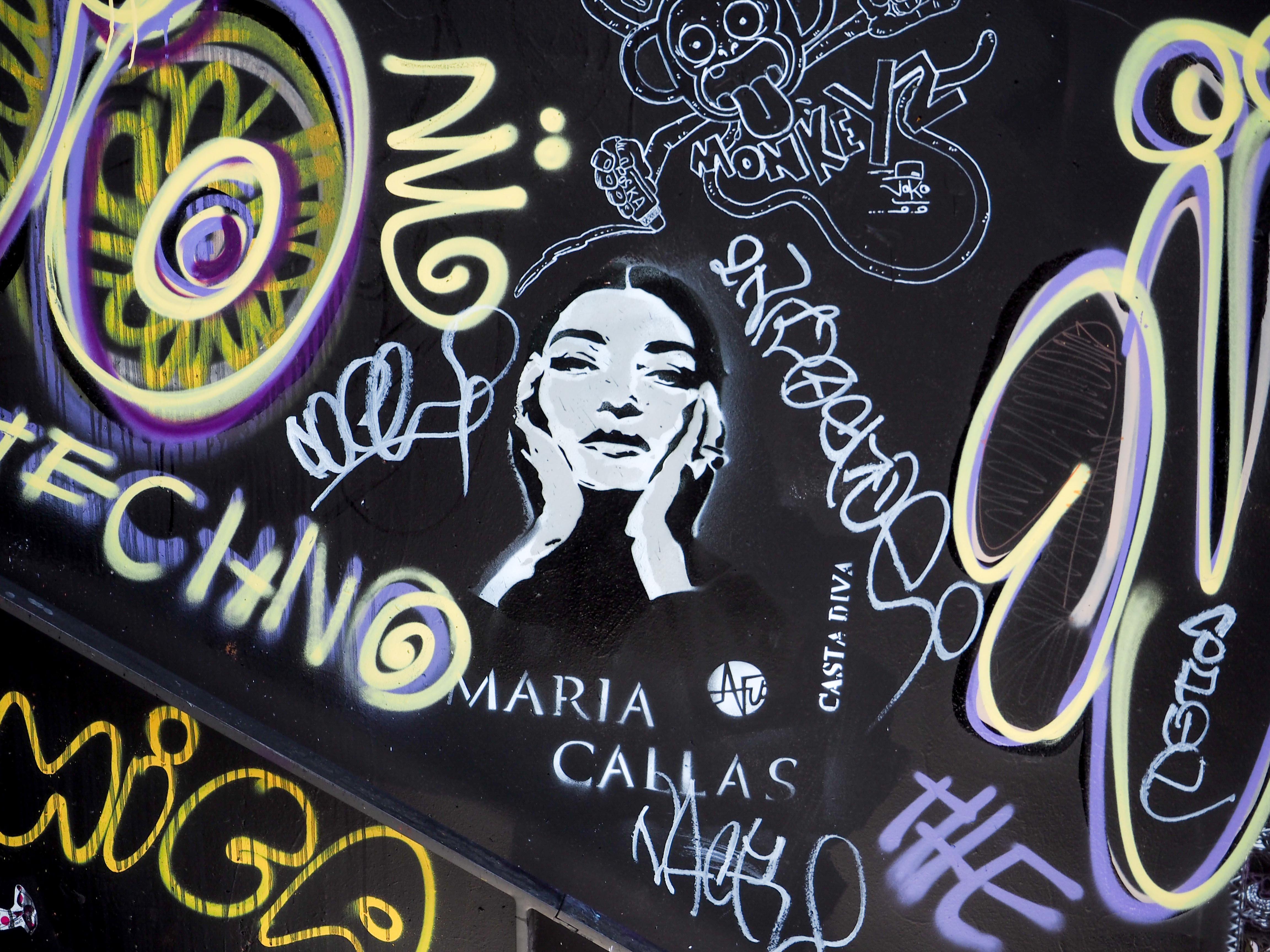 Frauen Bild der Callas von Nice Art
