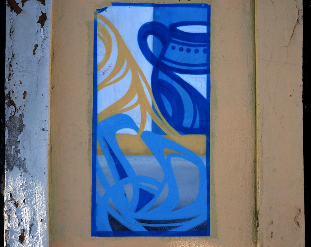 blauer Krug