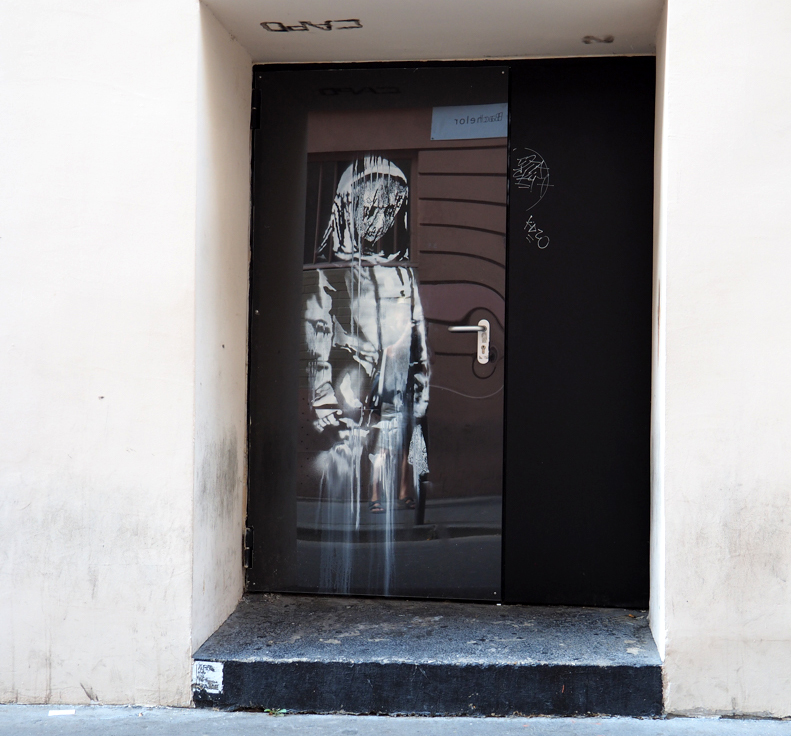 Banksy am Bataclan