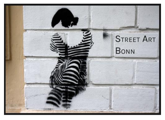 Street Art Buch über Bonn