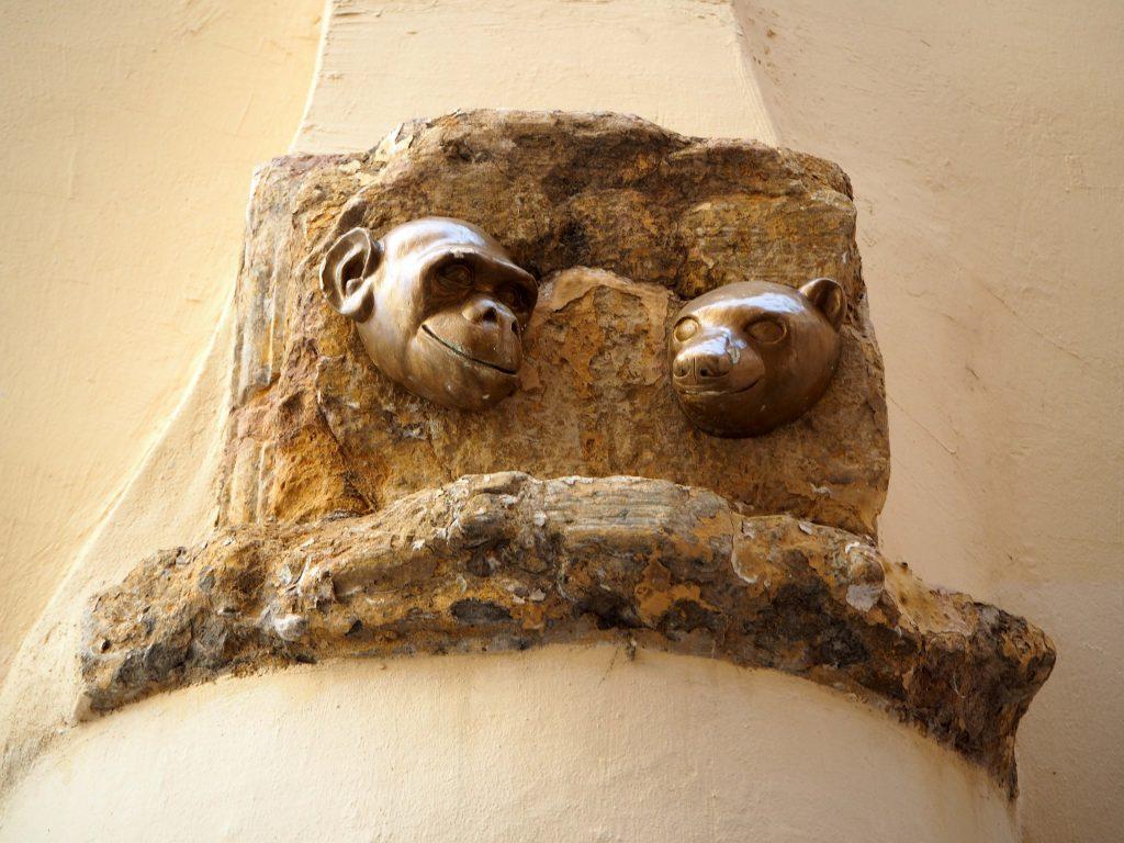 Affe und Bär