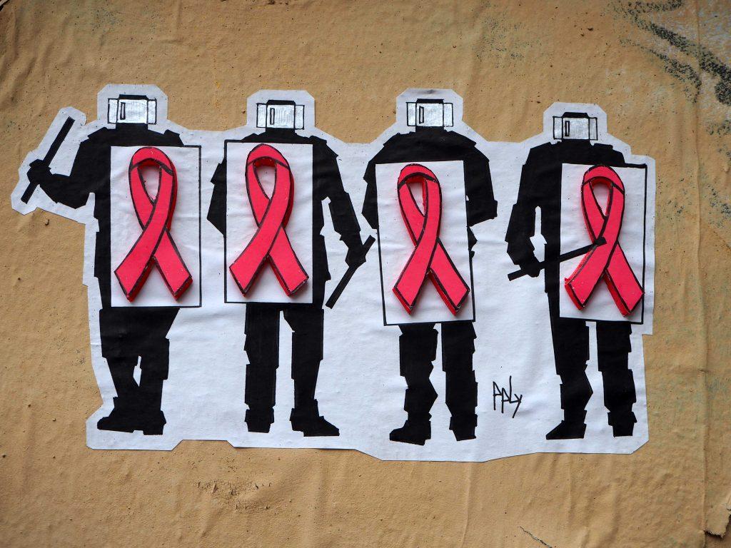 Aidsschleifenträger