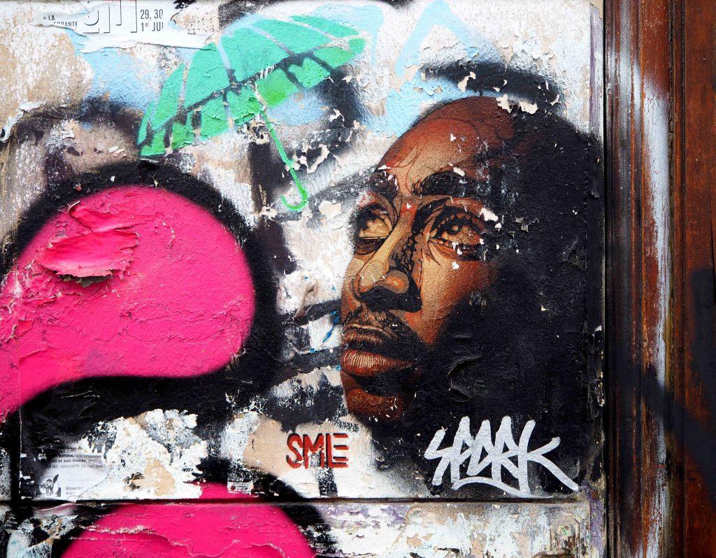 Der Sänger Tupac