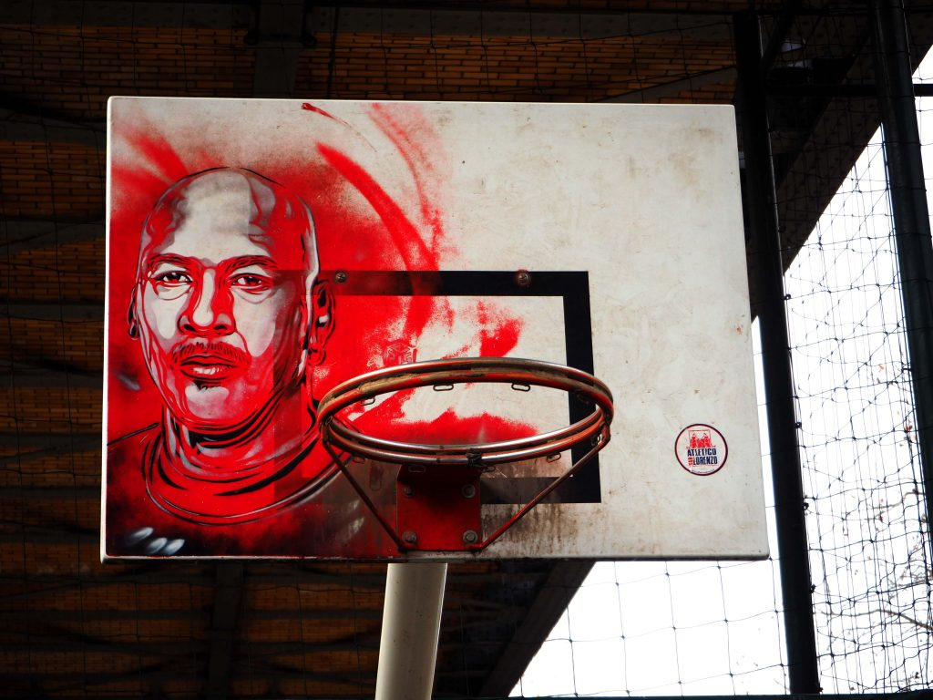 Portrait von Michael Jordan