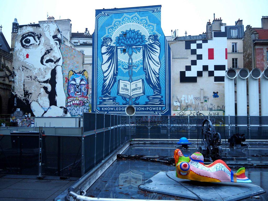 Kunst auf dem Place Strawinsky