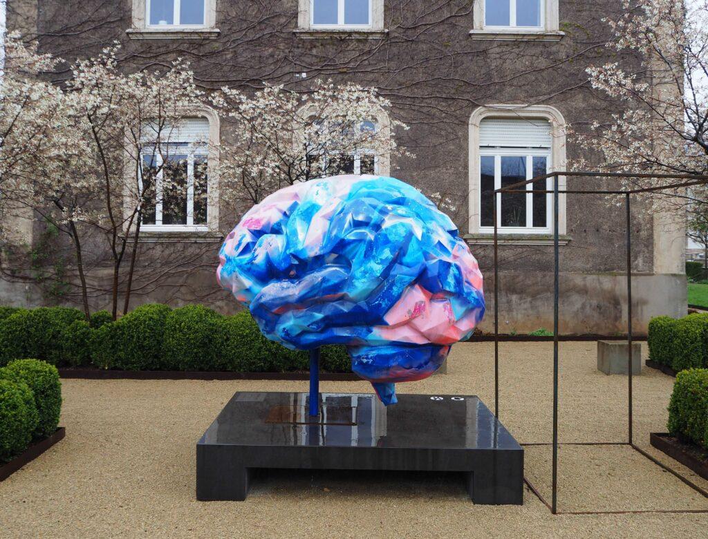 bemaltes Gehirn