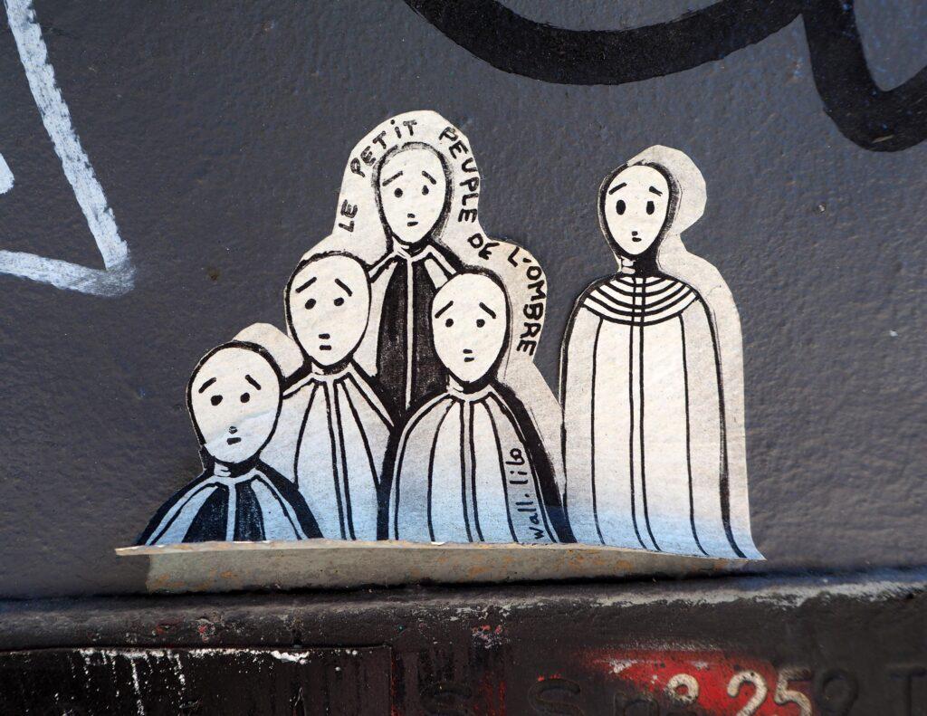 die kleinen Leute des Schattens