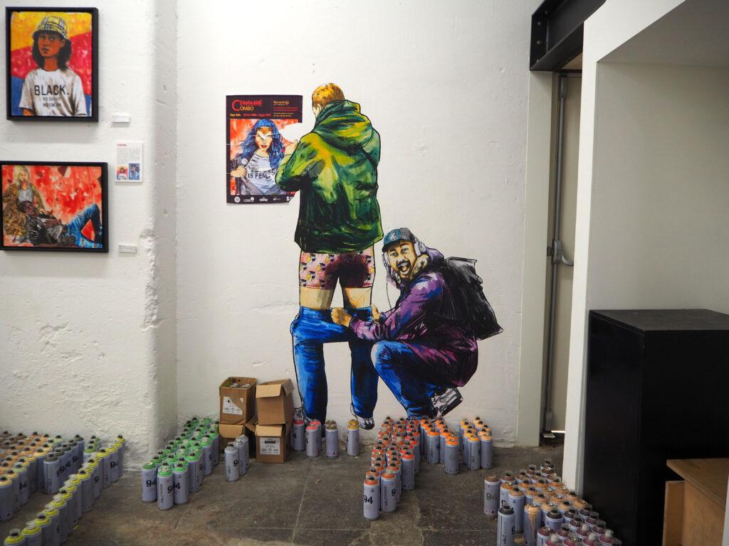 in der Galerie