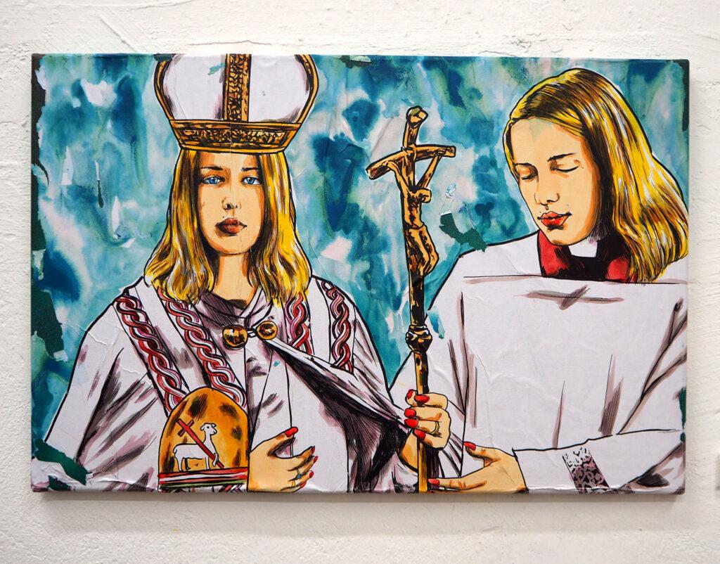 weibliche Päpstin