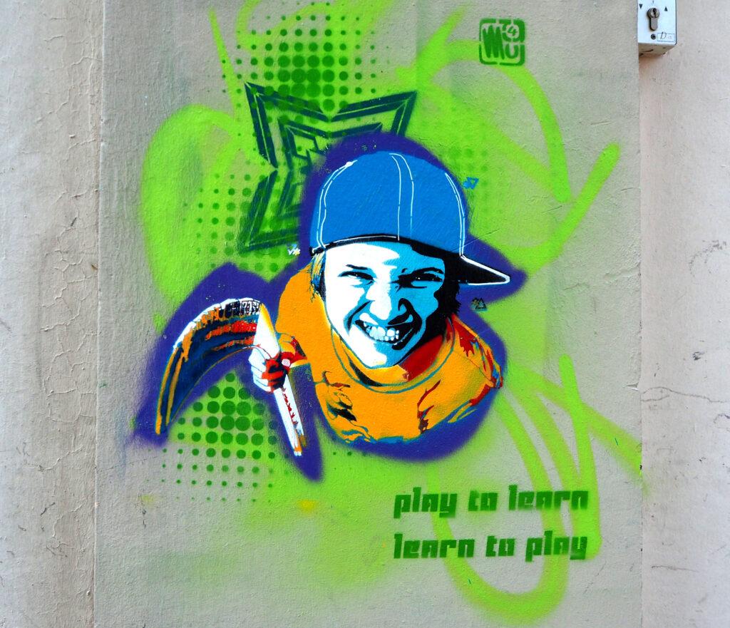 Spiele um zu lernen, lerne um zu spielen