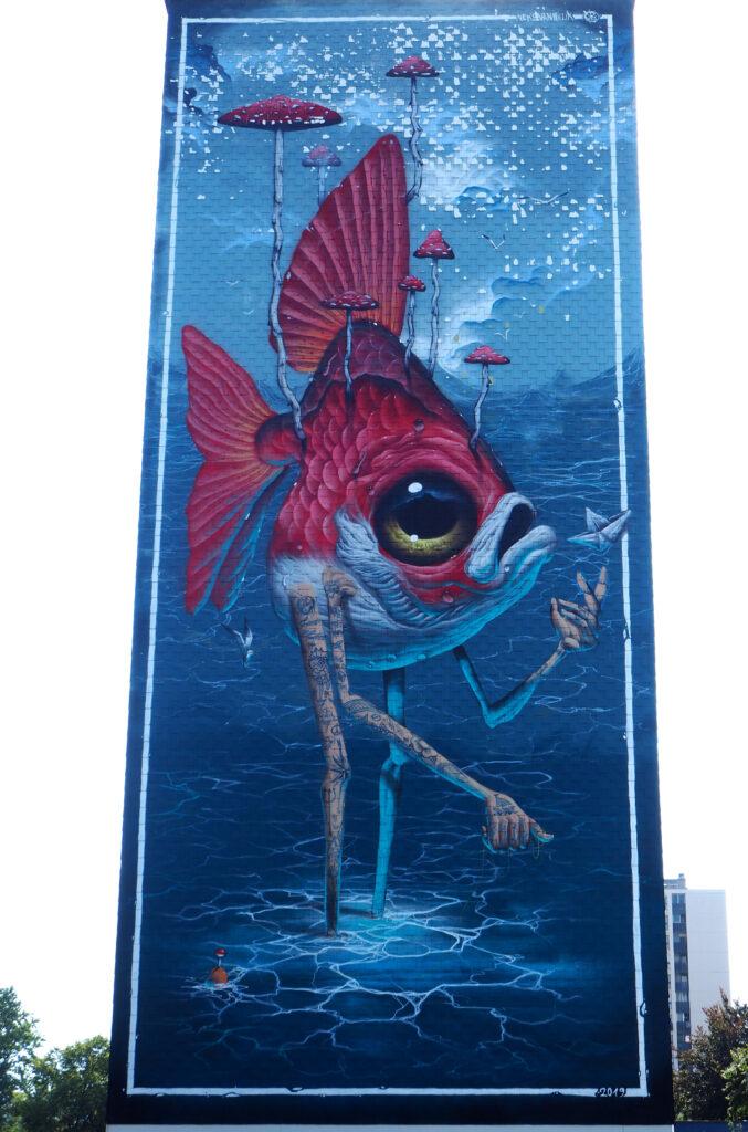 Fisch auf Beinen, 2019