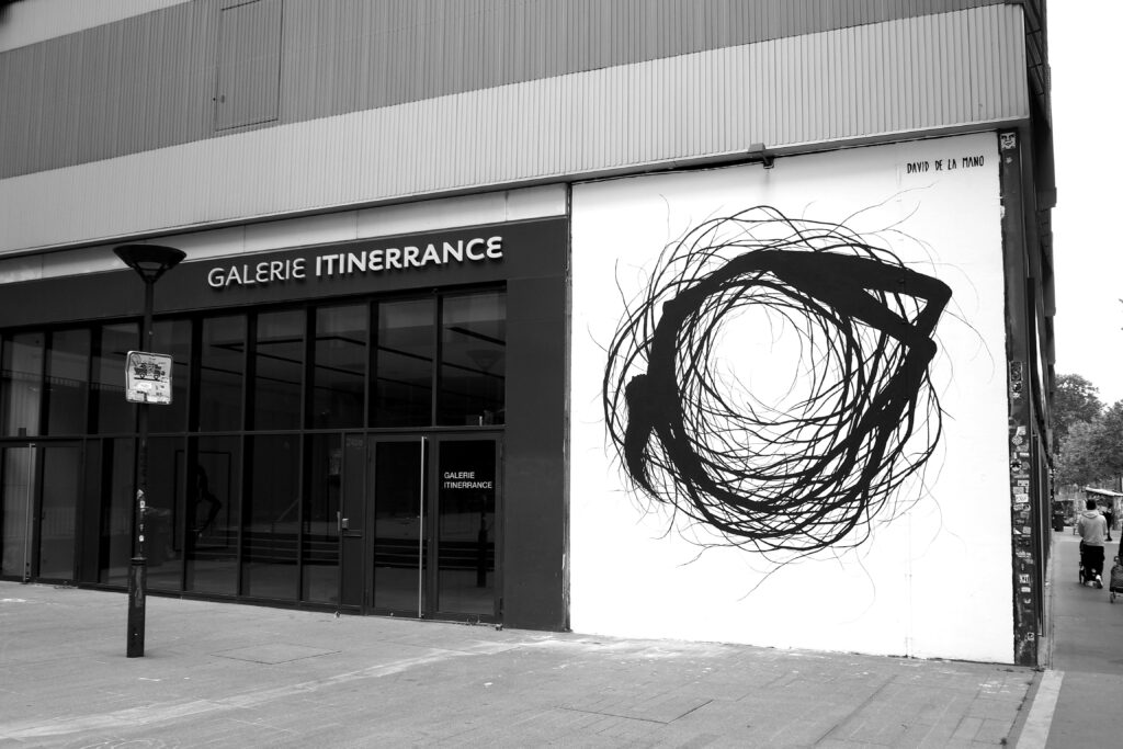 Eingang der Galerie Itinerrance